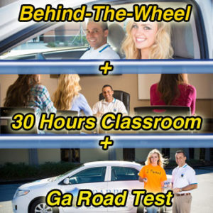 behind the wheel plus classroom plus georgia road test